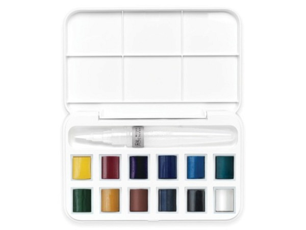 Aquarell Winsor Newton Cotman 12er Set Field Box 12 1/2