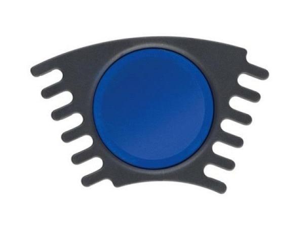 Gouache Faber-Castell Connector Napf blau, ergiebige Deckfarbe mit hoher Deckkraft, schnelle Farbaufnahme, gute Mischbarkeit für Schule und Freizeit