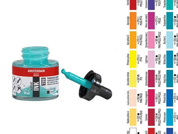 Airbrush Talens Amsterdam Acrylic Ink 30ml
