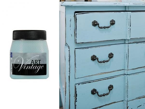 Kreidefarbe Schjerning Art Vintage 250ml antik-blau