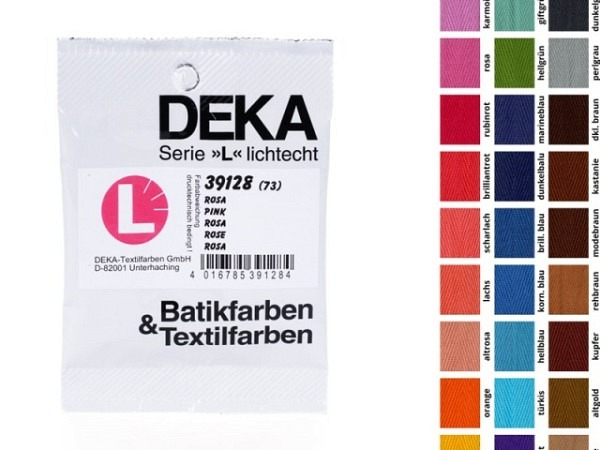 Batikfarbe Deka Altgold 10g, Stoffmalfarbe, lichtecht
