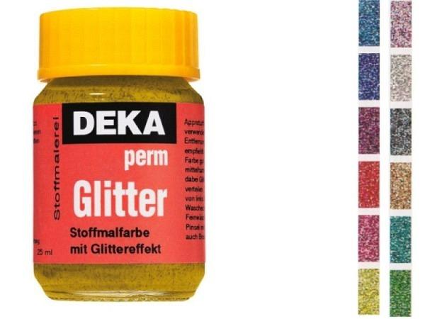 Stoffmalfarbe Deka Perm Glitter