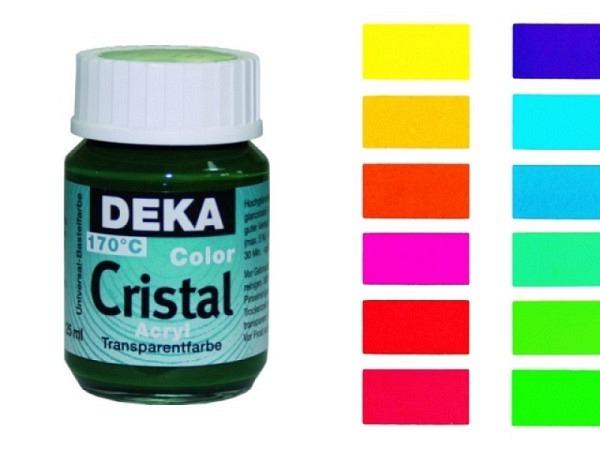 Fensterfarbe Deka Cristal 25ml