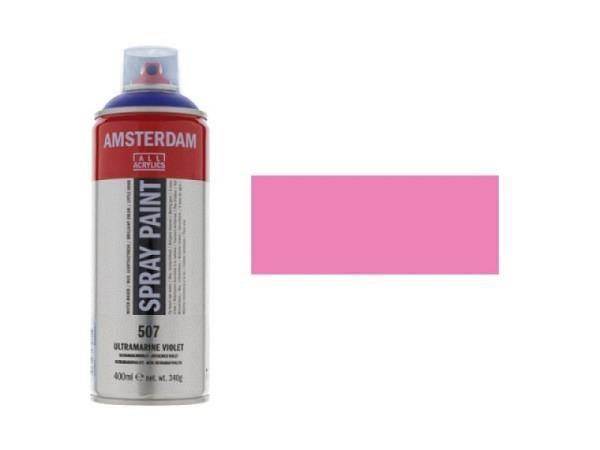 Spray Talens Amsterdam 400ml chinacridonrosa h. 385, deckend