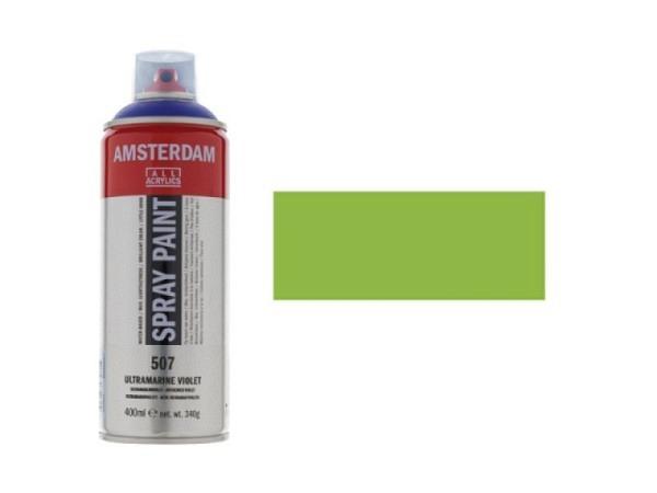 Spray Talens Amsterdam 400ml gelbgrün 617, halbdeckend