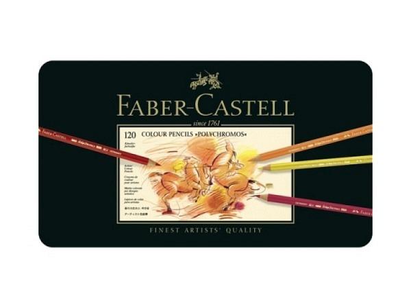 Farbstift Faber-Castell Polychromos 120er Metalletui