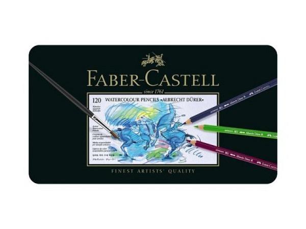 Farbstift Faber-Castell Albrecht Dürer 120er Metalletui