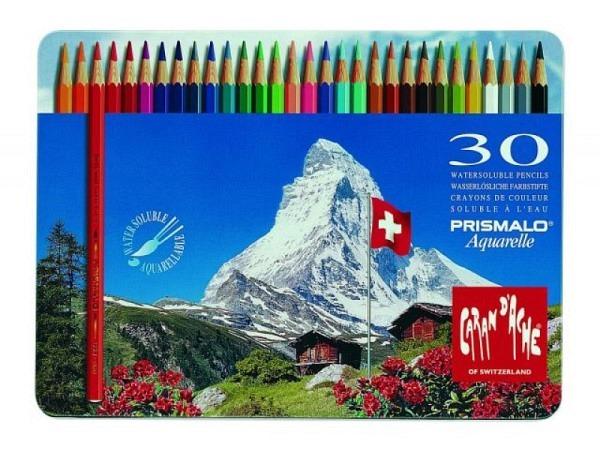 Farbstift Caran dAche Prismalo 30er Metalletui