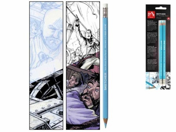 Farbstift Caran dAche Sketcher Non-Photo Blue Pencil 2Stk