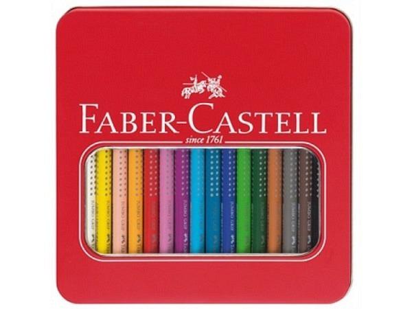 Farbstift Faber-Castell Jumbo Grip 16er Set im Metalletui