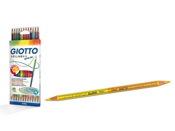 Farbstift Giotto Stilnovo Bicolor 12er Set