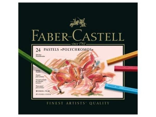 Pastellkreide Faber-Castell Polychromos 24er Set