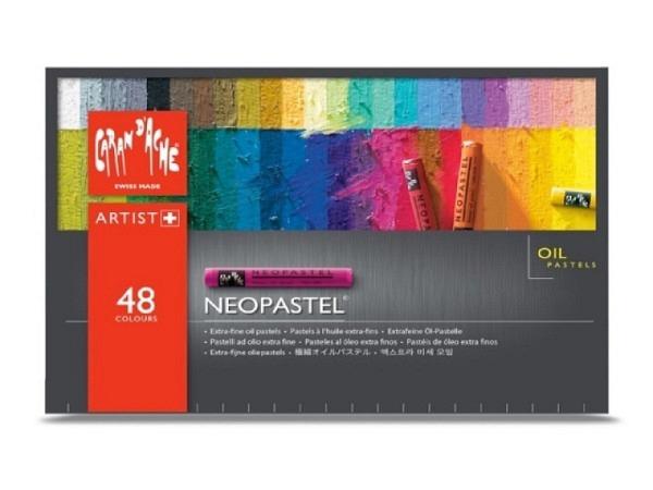Oelpastell Caran dache Neopastell 48er im Karton