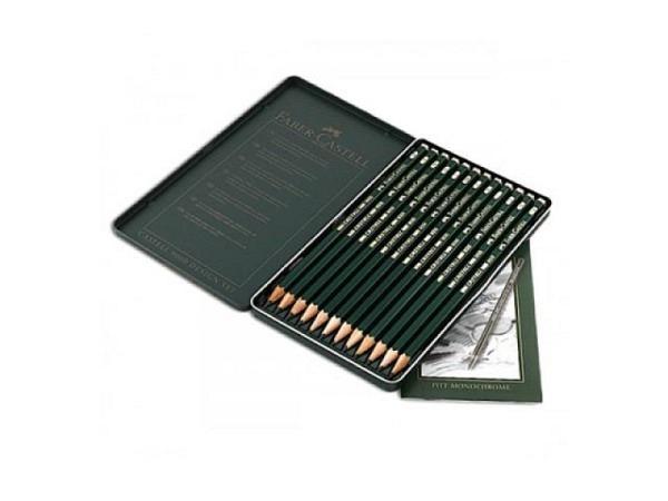Bleistift Faber-Castell 9000 12er Design-Set 5B-5H