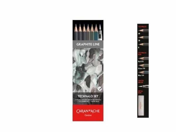 Bleistift Caran dAche Technalo 779 RGB Set 6-Technalo