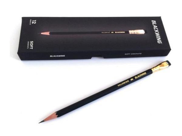 Bleistift Blackwing 602 aus feinstem Zedernholz gefertigt, besondere weiche, gleichmässige Graphitte