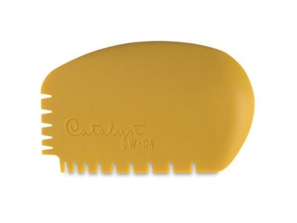 Gummipinsel Catalyst Wedge 04 gelb aus Silikon