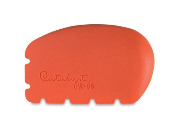 Gummipinsel Catalyst Wedge 05 orange aus Silikon