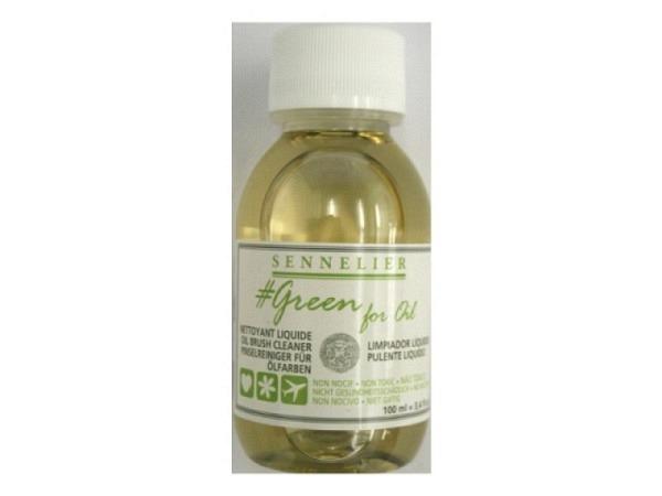 Pinselreiniger Sennelier Green for Oil 100ml