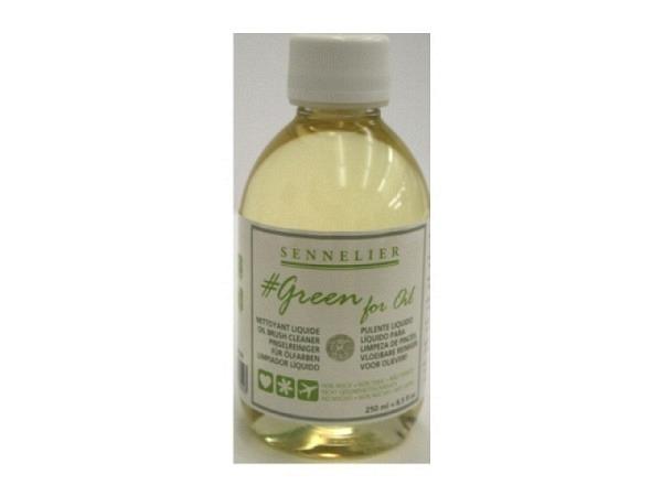 Pinselreiniger Sennelier Green for Oil 250ml