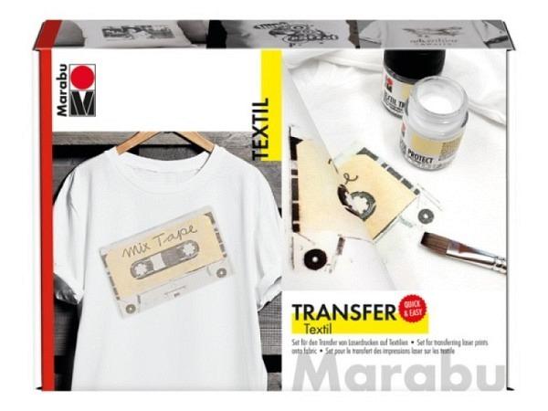 Foto-Transfer Marabu Textil Transfer Set