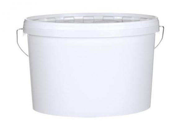 Eimer Kunststoff weiss oval 5,5 Liter