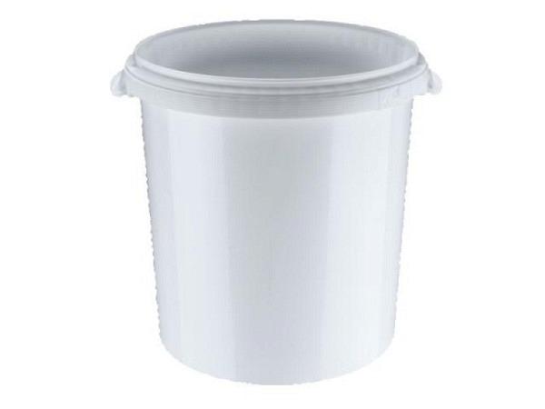 Eimer Kunststoff weiss rund 30 Liter