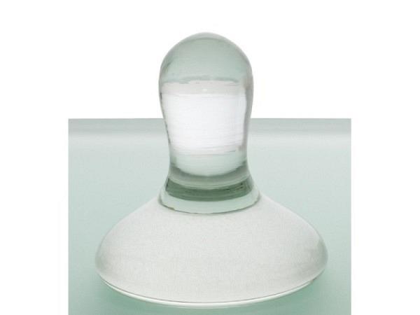 Glasläufer Durchmesser ca. 5-6cm, 6cm hoch