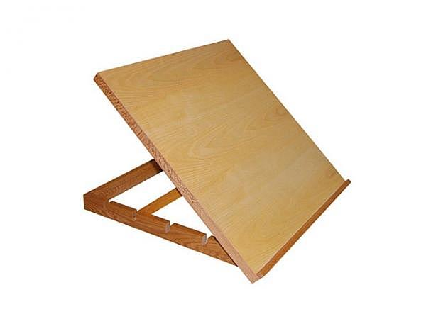 Malbrett Lukas 40x40cm verstellbare Neigung, Holz, 1,5kg