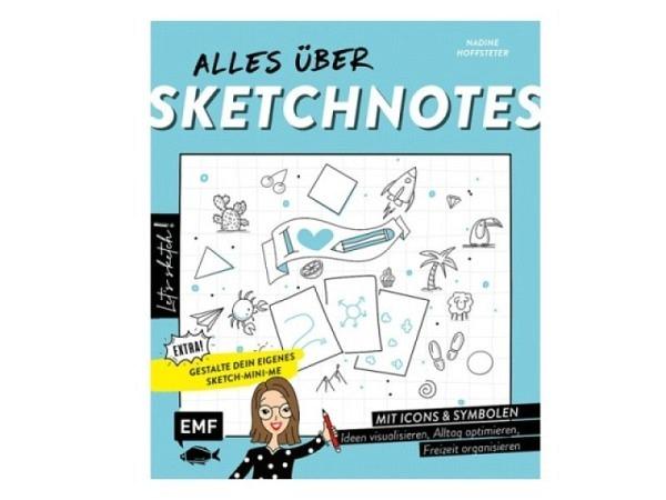 Buch Alles über Sketchnotes - Mit Icons und Symbolen Ideen visualisieren