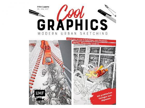 Buch Cool Graphics Modern Urban Sketching