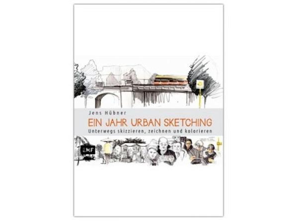 Buch Ein Jahr Urban Sketching - unterwegs skizzieren
