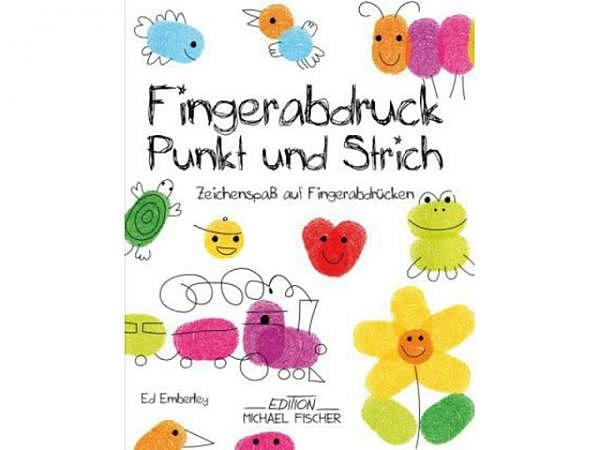 Buch Fingerabdruck Punkt Und Strich Bucher Kinder Papeterie