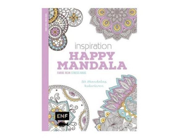 Malbuch Tangles und Doodles 25,5x20,5cm, Ausmalbuch für Erwachsene, 127 Seiten, mit diesem Malbuch w