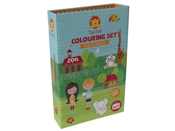 Malbuch Pepin Colouring Book Art Noveau Tiles