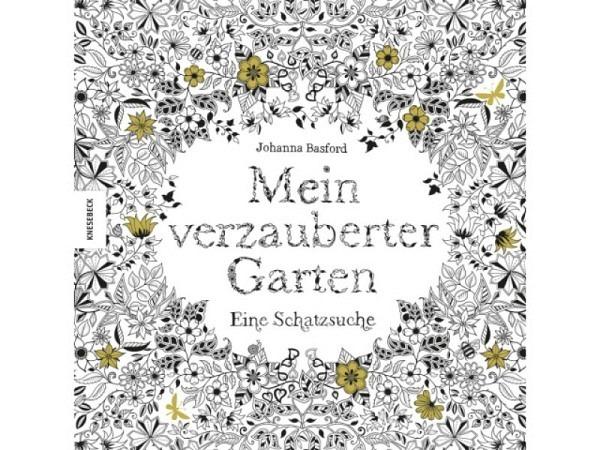 Malbuch Mein verzauberter Garten, Secret Garden