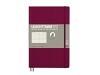 Notizbuch Leuchtturm medium punktkariert Neon Orange