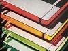 Notizbuch Leuchtturm medium punktkariert Neon Gelb