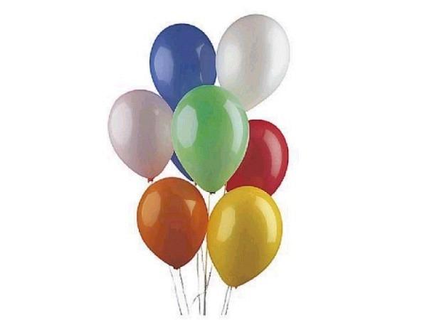 Ballone rund gross Durchmesser 75cm 20Stk. farbig assortiert