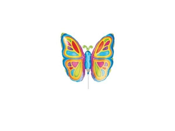 Ballone Folie luftbefüllt Schmetterlingsform