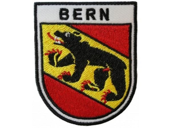 Aufnäher Bern aus Stoff, mit Bernewappen