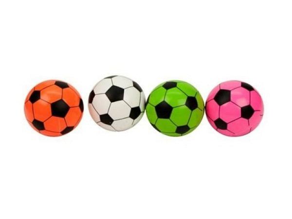 Ball Gummiball Flummi Neon Mini Soccer Durchmesser ca. 3,5cm