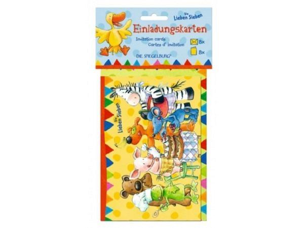 Einladungskarten Coppenrath Die Lieben Sieben