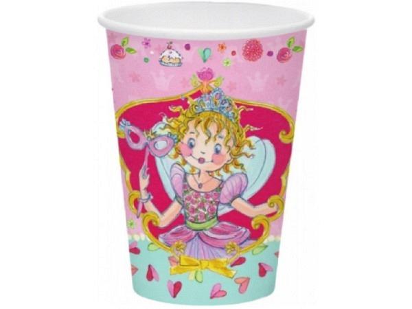 Becher Prinzessin Lillifee Partybecher 7x9cm, rund 8Stk