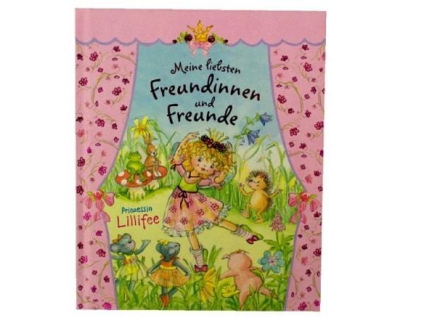Freundschaftsbuch Lillifee Meine liebsten Freundinnen und Freunde, Freundebuch mit viel Platz zum Malen und Einkleben von Fotos, mit Geburtstagskalender, 96S. 16,5cmx20,5cm