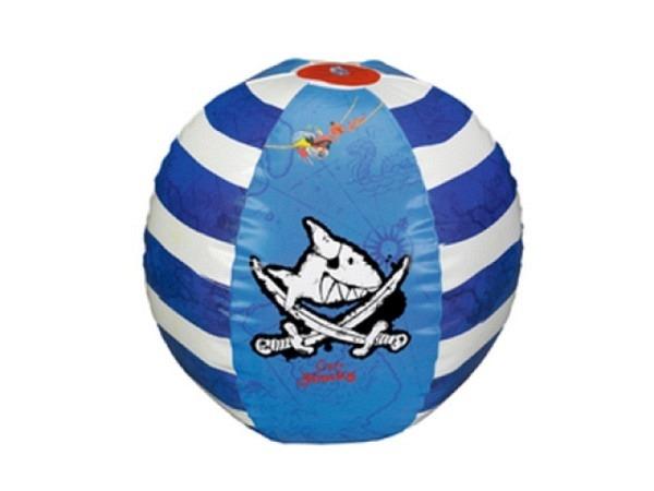 Ball Capt'n Sharky aufblasbarer Wasserball, ca. 50cm