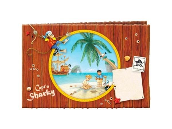 Einladungskarten Captn Sharky 8Stk. 14x10cm
