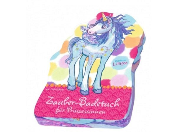Badetuch Coppenrath Lillifee Einhorn Zauberbadetuch 150x75