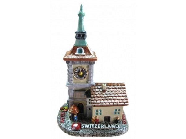 Deko Bern Zytgloggenturm zum aufstellen, handbemalt