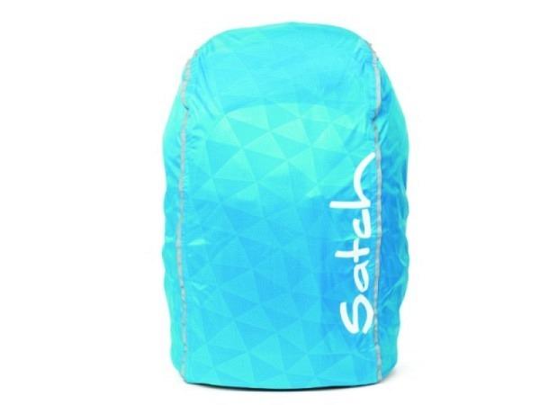 Regenschutz Ergobag Regencape für alle Satch Modelle blau